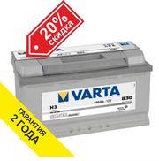Аккумуляторы Varta 100 Ah в Алматы. Цены снижены! 87273171564