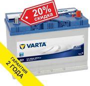 Аккумуляторы Varta 95 Ah со скидкой 20%