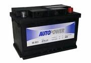 AUTOPOWER Аккумулятор 70Ah 57010 (STD + -) 278х175х190