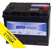 Аккумулятор Autopower 68AH 550A